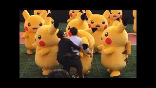 Pikachu dance gone sexual in Japan