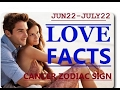 Cancer zodiac love facts | June 22 - July 22 | Horoscope