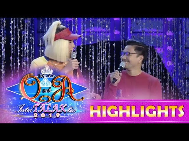 It's Showtime Miss Q and A: Vice asks Jhong about his longtime girlfriend