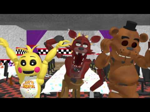 FNAF Animals Dancing - Animation