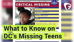 Why Are There So Many Missing Teens in DC?