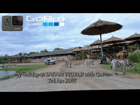 Bangkok SAFARI WORLD with GoPro Hero 5    (03-Jan-2017)