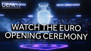 Relive the #EURO2020 Opening Ceremony virtual performance by Martin Garrix, Bono & The Edge