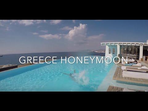 Honeymoon in Greece | Athens, Mykonos, Santorini