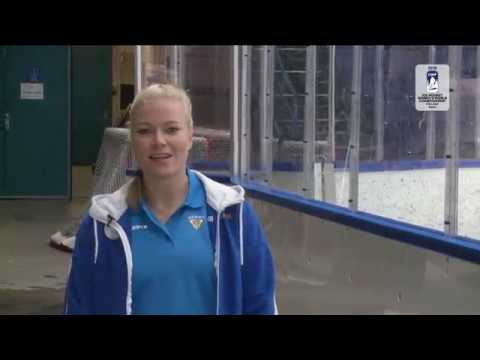 Noora Raty shows you Women's Worlds arena