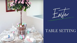 Easter Table 2018