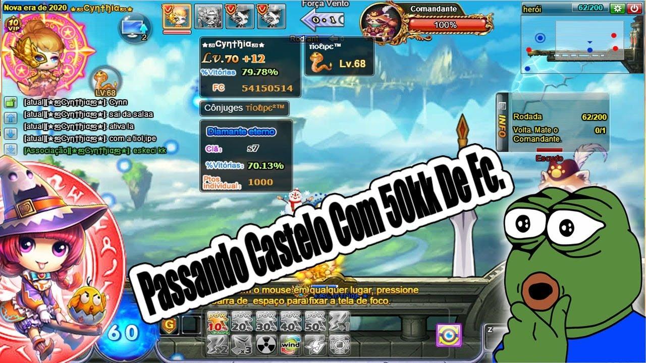 [DDTank 337] PASSANDO CASTELO HERÓI,COM ACC DE 50KK +DICAS!! #Tiolipe #Dehu