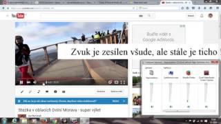 Youtube  - proč není slyšet zvuk při přehrávání videa  - www.pinnaclestudio.wz.cz