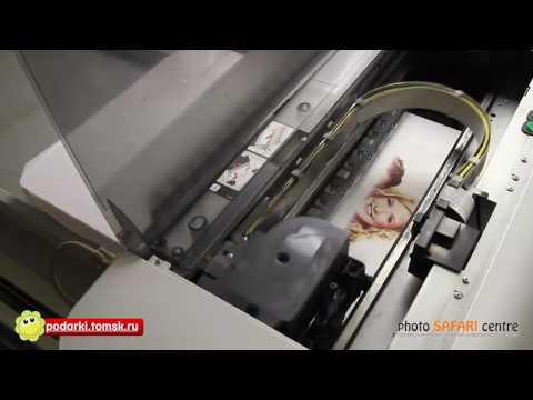 Печать на футболках в Томске без плёнок - Продолжительность: 2:20