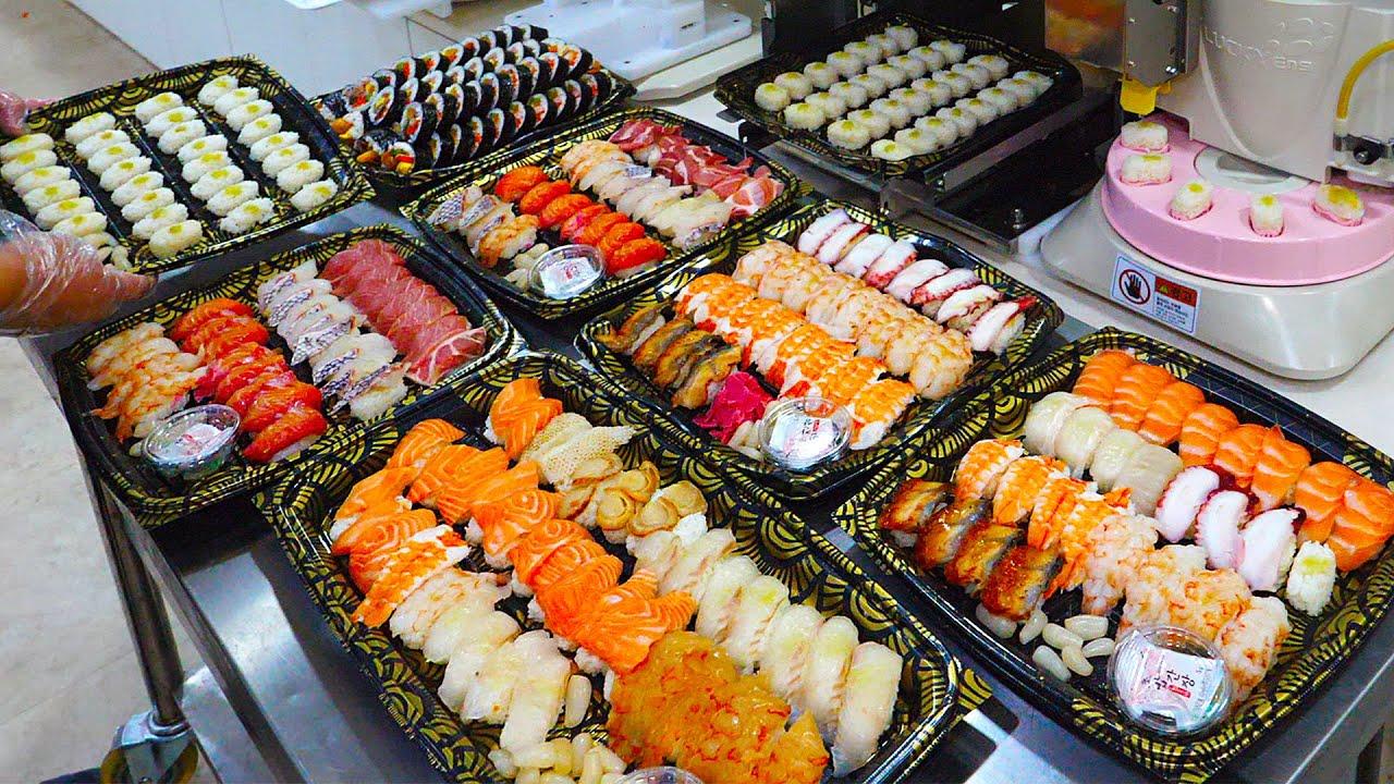 신기합니다! 김밥,초밥 만들어 주는 첨단 자동기계 / Amazing food automation machine (Gimbab, sushi)