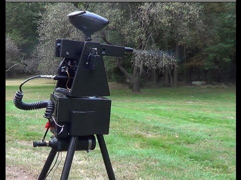 paintball machine gun turret - photo #26