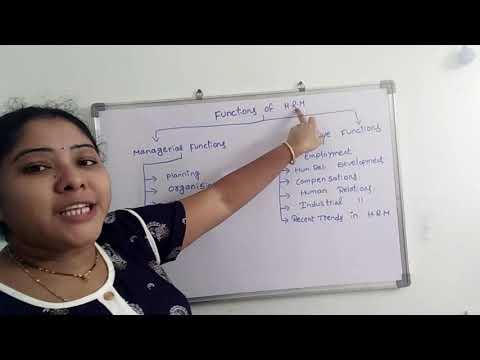 JPO CLASS 1 | HRM IN TELUGU |TSNPDCL JPO SYLLABUS