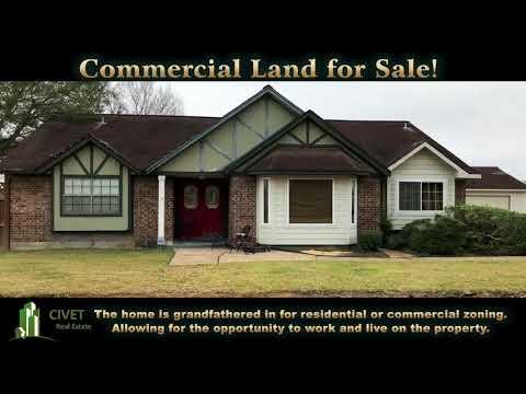 CIVET Real Estate, 2490 Calder Rd. League City, TX Land for Sale