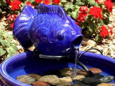 Smart Solar Ceramic Solar Fish Fountain Product Review