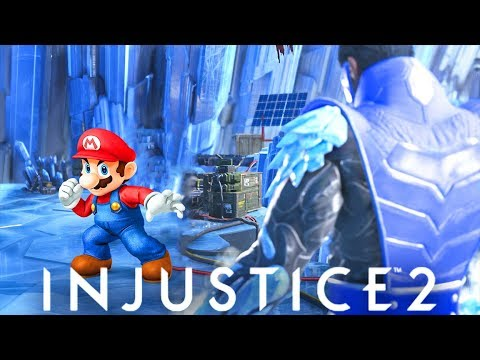 INJUSTICE 2 - Super Mario bros. REFERENCE & More (All References Part 1)