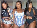 Curvy/Thick GirlSummer17 Swimsuit try-on haul ft Rosewholesale.com