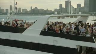Odyssey Cruises, Chicago: Dining with Skyline View...