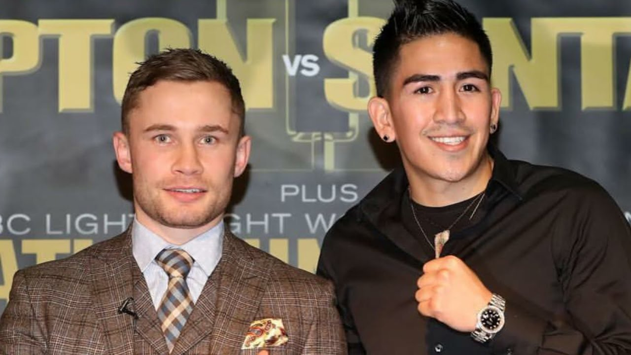 Image result for carl frampton leo santa cruz