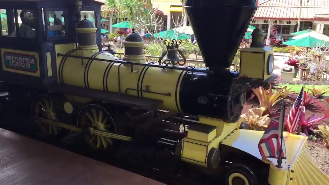 Dole Plantation Pineapple Express Train Ride - YouTube