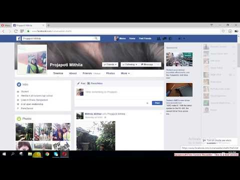 How to Hide mutual friends on facebook (Bangla Tutorial)