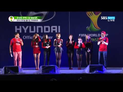 [HD] 140623 T-ara - Roly Poly & Lovey Dovey & Number 9 @ World Cup