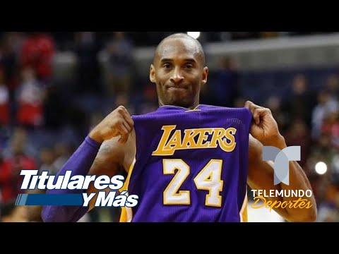 ¡Grandioso! Los logros más destacados de Kobe Bryant | Telemundo Deportes