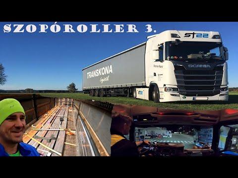 A kamionos 1 napja - Szopóroller 3