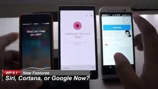 Cortana vs  Siri vs  Google Now (Beta comparison)