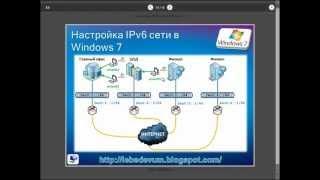 Настройка IPv6 сети в Windows 7(Веб-каст демонстрирует настройку сети в Windows 7 на базе протокола IPv6, при помощи Центра управления сетями..., 2012-08-30T08:04:12.000Z)