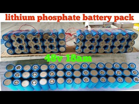 DIY Lithium phosphate battery pack 48v 18am -part-1