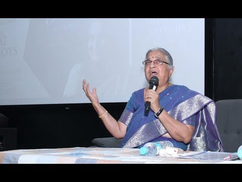 Smt  Sudha Murthy Interaction with KLE Tech-BVB students