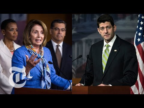 House Party Leaders Nancy Pelosi, Paul Ryan Hold Weekly News Conferences | The New York Times