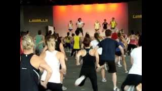 BodyAttack 76 (track 1) with the Belgian and French Team