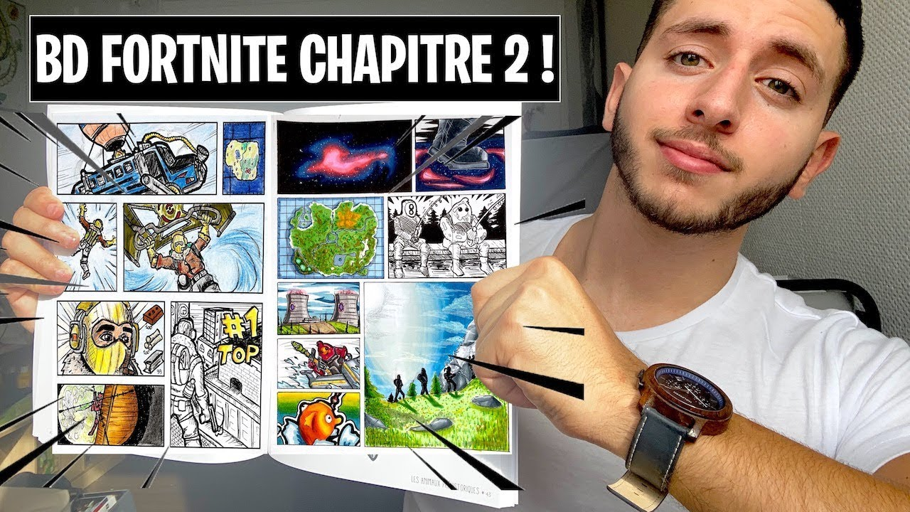 Drawing A Comic Book Fortnite Chapter 2