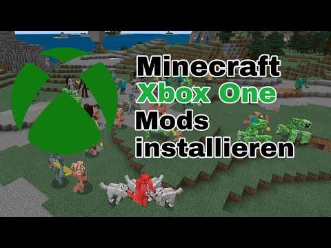 Minecraft Xbox One Mods installieren DEUTSCH (Bedrock) YouTube