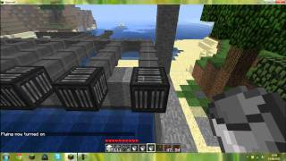Repeat youtube video Minecraft Dam with finite liquid mod