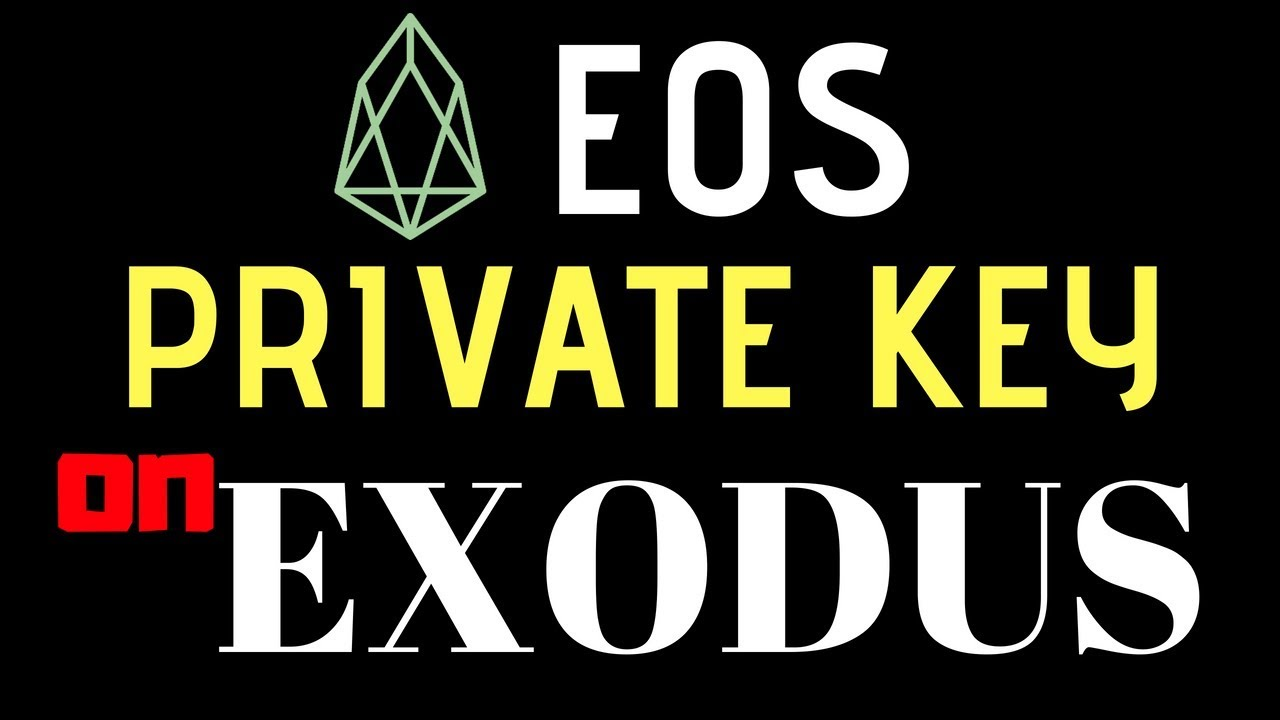 how to send private keys from exodus wallet