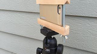 How to Make an iPhone Mount to a Tripod