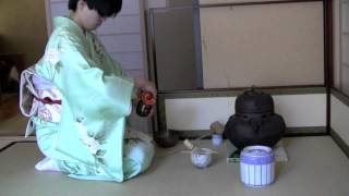 Japanese Tea Ceremony NYC_FuroTemae_1