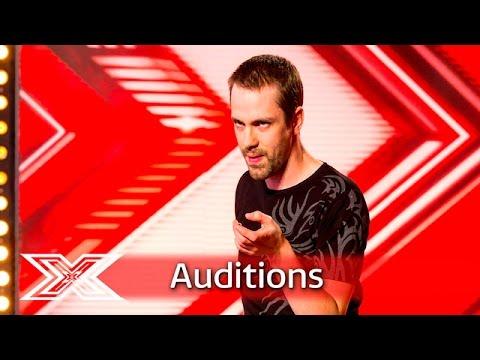 John Brennan shocks the judges with Gaga performance   Auditions Week 2   The X Factor UK 2016
