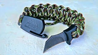 World's First Survival Bracelet Knife