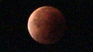 "Totale Mondfinsternis "" Blutmond "" 28.9.2015 | Total Lunar Eclipse "" Blood Moon """