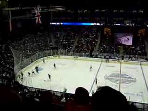 NHL Premeire 2007 Anaheim Ducks vs Los angeles King at O2 arena in London UK