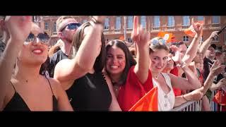TOP 14   Le retour du Bouclier de Brennus à Toulouse