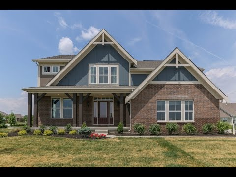 The Blair Floorplan by Fisher Homes | Model Home in Westfield, IN