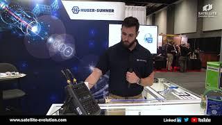 HUBER & SUHNER demo at Satellite 2019