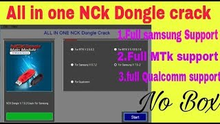 All in One NCK Dongle Crack Pack | Nck Dongle All Latest Crack | Samsung | MTK | Qualcomm | Hindi