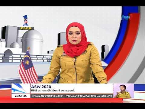 ASW 2020 – PNB UMUM DIVIDEN 6 SEN SEUNIT [30 OGOS 2017]