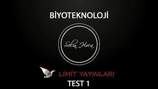 55) Limit Yayınları - Biyoteknoloji - Test #1