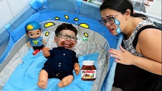 IGOR volta a ser bebê & Igor and pretend to play baby
